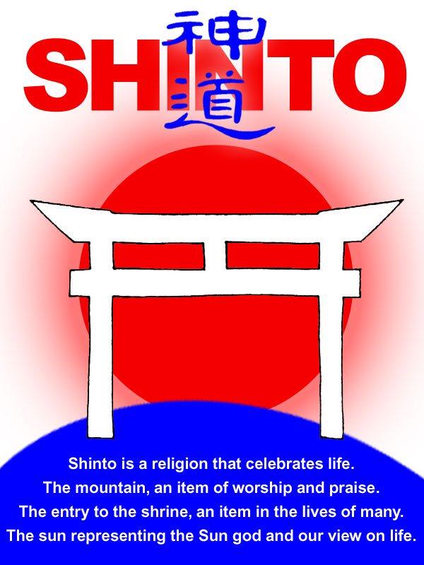 shintoism a japanese religion Religions of the world shinto, an ancient japanese religion sponsored link brief history of shinto: shinto is an ancient japanese religion starting about 500 bce (or earlier) it was originally an amorphous mix of nature worship, fertility cults, divination techniques, hero worship, and shamanism.